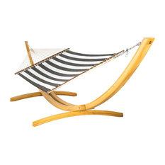 Hatteras Hammocks Large Sunbrella Quilted Hammock, Cabana Classic