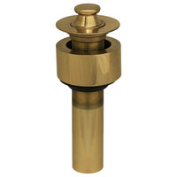 """2 1, 2"""" Lift And Turn Drain With Pull-Up Plug"""