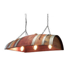 Wine Barrel Hanging Lamp