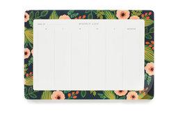 Jardin Weekly Desk Pad