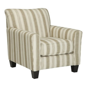 Milari Accent Chair Maple Traditional Armchairs And