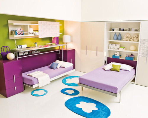 Childrens Wall Beds SpaceSaving Solutions - Space saving kids beds
