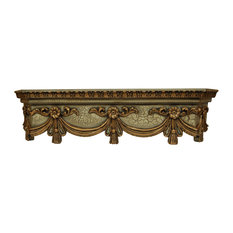 Hickory Manor - Swag Bed Crown, Verona - Bed Accessories