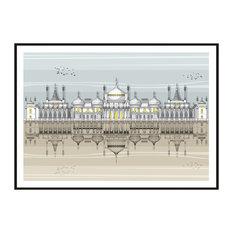Brighton Royal Pavilion Giclée Print, A2
