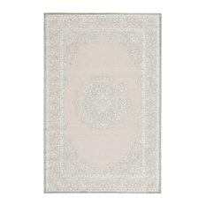 """Jaipur Living Malo Medallion Gray/White Area Rug, 8'10""""x11'9"""""""