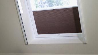 Insektenschutz-Rollo für Dachfenster