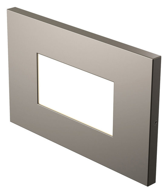 Salem led step light satin nickel