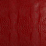 F. Schumacher & Co. - Schumacher Crocodile Textured Wallpaper, Crimson, Double Roll - Classic crocodile gets an update in this embossed wallcovering. The subtly striped pattern adds instant luxury to any space.  Since 1889 we've been setting the bar with our exceptional products. A passion for beauty, respect for classicism and eye for the cutting edge are woven into everything we do.