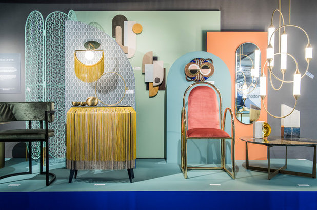 """Luxury Graphic"" display by Elizabeth Leriche at Maison & Objet 2019"