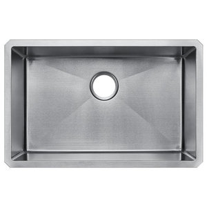 Hahn Chef Series Handmade Single Bowl Contemporary Kitchen Sinks By Your Sink Warehouse Lp