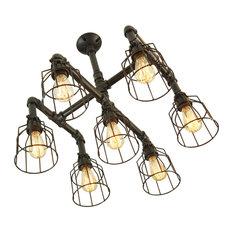 Uptown Iron 7-Light Chandelier