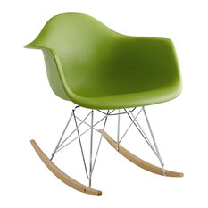 Rocker PP Plastic Lounge Chair