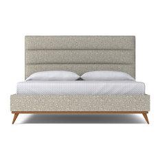 Cooper Upholstered Bed From Kyle Schuneman Pumpkin Pumpkin California King