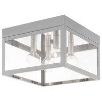 Livex Lighting Nordic Gray 4-Light Outdoor Ceiling Mount