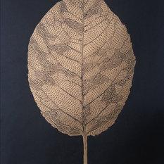 - gold leaf print - Tegninger & illustrationer