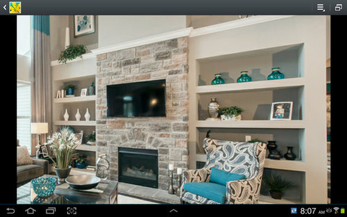 In The Process Of Building A Home Fireplace Will Look Like This Picture What S Best Way To Mount Tv Bracket