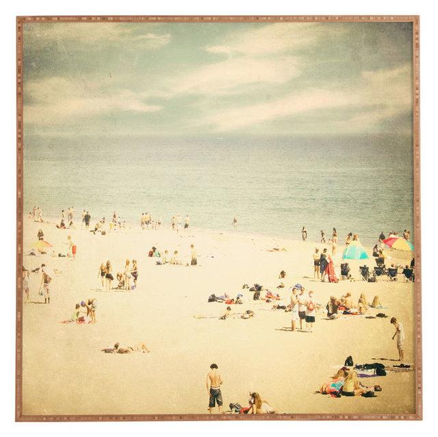 Shannon Clark Vintage Beach Framed Wall Art - Beach Style - Prints ...
