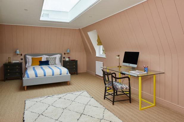 Eclettico Camera da Letto by Sarah Brown Interiors