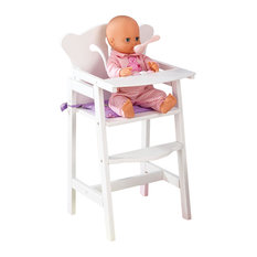 KidKraft - Kidkraft Kids Children Home Indoor Pretend Play Toy Lil #039; Doll High Chair - Kids Toys