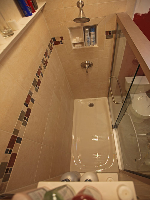 Recessed Bathroom Tile Niches   Bathroom Cabinets And Shelves