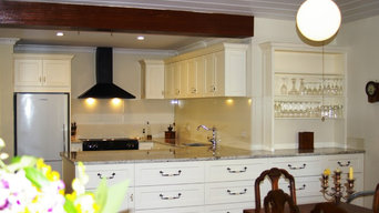 A hand painted Shaker Federation Kitchen at Mylor, on Houzz South Australia