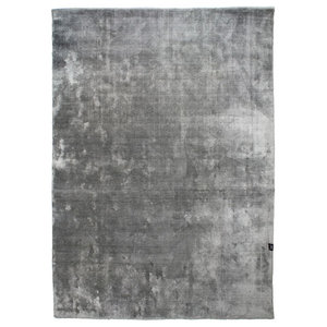 Classic Collection Velvet Silver Area Rug, 300x200 cm