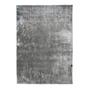 Classic Collection Velvet Silver Area Rug, 230x170 cm