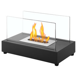 Modern Tabletop Fireplaces by Ventless Fireplace Pros