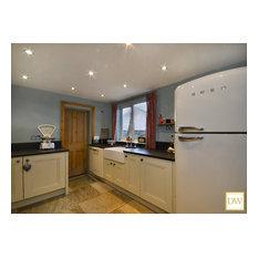 Victorian 'Downton Abbey' Style Kitchen.
