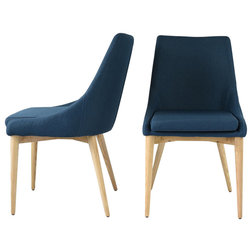 Contemporary Dining Chairs by Edloe Finch Furniture Co.