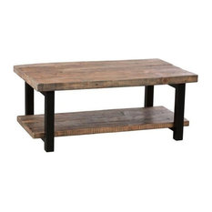Coffee and Accent Tables   Houzz Alaterre   Alaterre Pomona Coffee Table  Rustic Natural   Coffee Tables. Accent Living Room Tables. Home Design Ideas