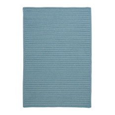 Colonial Mills, Inc - Colonial Mills Simply Home Solid H101 Federal Blue Rug, 10x13 - Outdoor Rugs