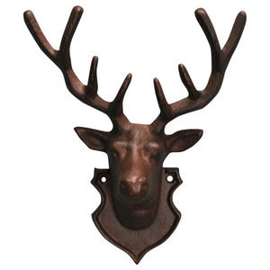 Fallen Fruits Wall Mounted Stag Head With Antlers