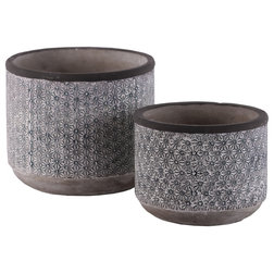 Transitional Outdoor Pots And Planters by Urban Trends Collection