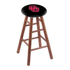 Oak Bar Stool Medium Finish With Oklahoma Seat 30-inch