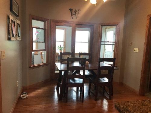 Wondrous Kitchen Bayed Window Space Bralicious Painted Fabric Chair Ideas Braliciousco