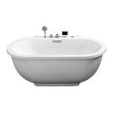 """Ariel 70"""" Whirlpool Bathtub"""