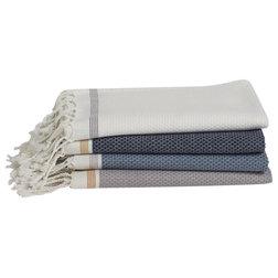 Transitional Bath Towels by Coyuchi