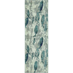 Beach Style Hall And Stair Runners by eSaleRugs