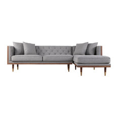 Angle Sectional Sofas Houzz