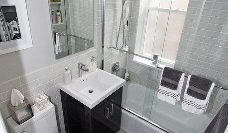 Remodel A Small X Bathroom W Tub - 5x6 bathroom design