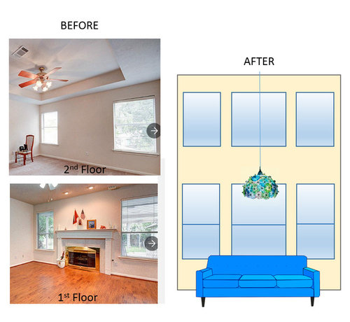 Expanding Ceiling Height In Living Room