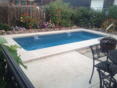 Small pool and or small yard please share here for Pool design regrets
