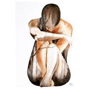 Mossberg akvarells foto