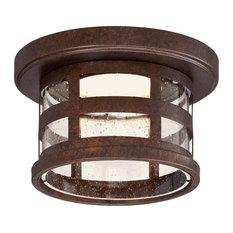 "Design House 587212 Washburn 10"" LED Outdoor Ceiling Fixture - Bronze"