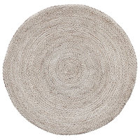 Volly Round Jute Rug, 6'