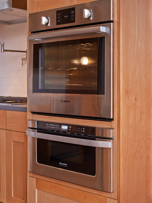 Microwave Over Wall Oven Home Design Ideas Pictures
