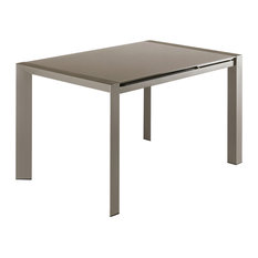 Valla Extendable Dining Table, Dove Grey