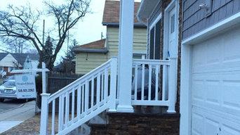 vinyl fence and railing