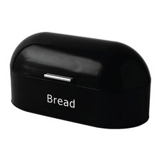 Chef Vida Retro Bread Bin, Black